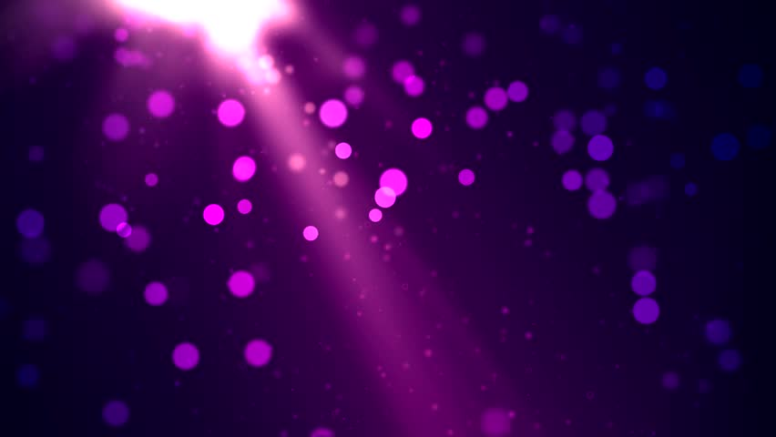 Purple Cosmic Particles Looping Animated Background Stock Footage ...