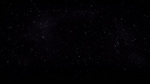 Twinkling stars - loop animation. Slow animation cycle of stars twinkling.