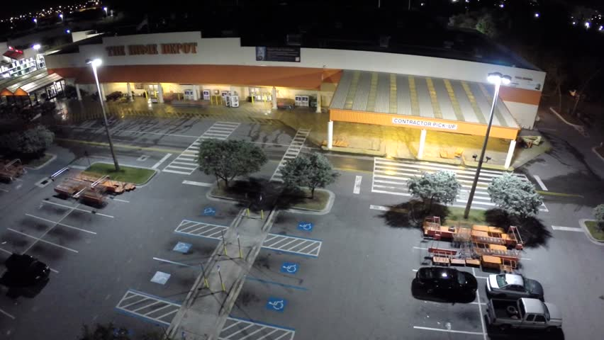 Hollywood January 26 Aerial Video Footage Of The Hollywood Home Depot January 26