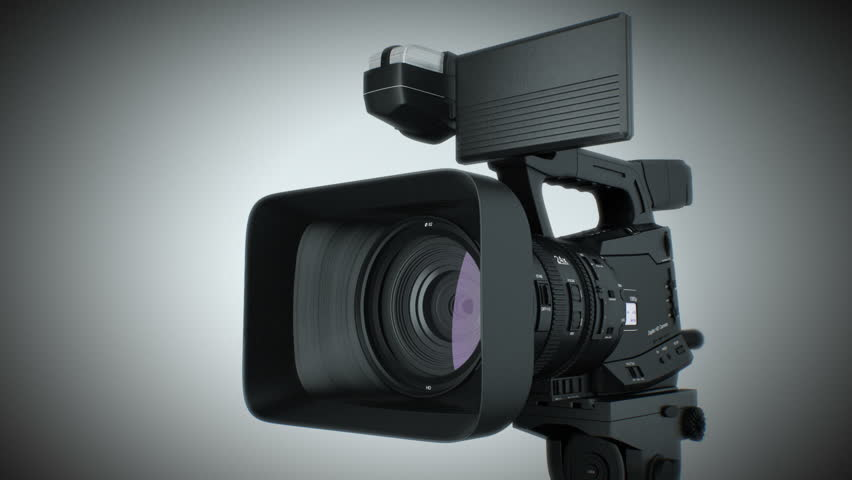 Video camera Useful as transition to your video. Alpha matte included.