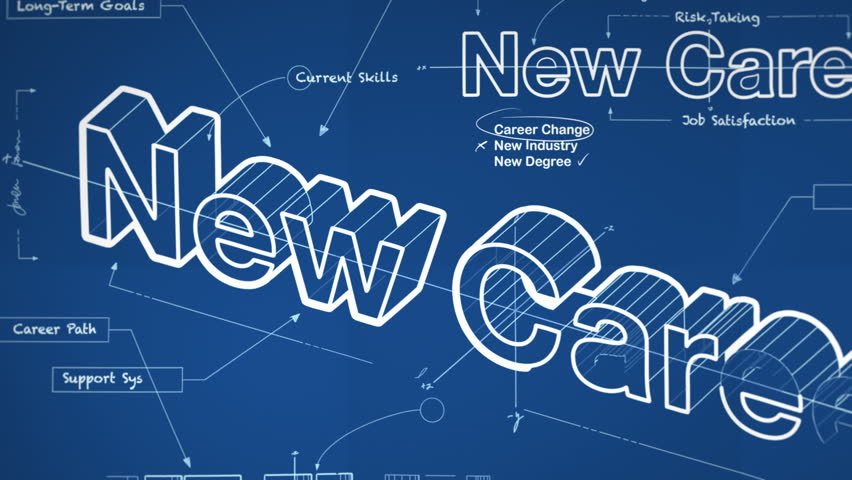Stock video of blueprint for a new career 5632316 shutterstock malvernweather Images