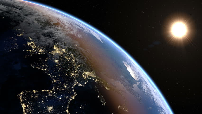 Europe at night extremely detailed image including elements 3d animation with some light sources reflections and post processing earth maps courtesy of nasa stock footage video 5659226 shutterstock gumiabroncs Choice Image