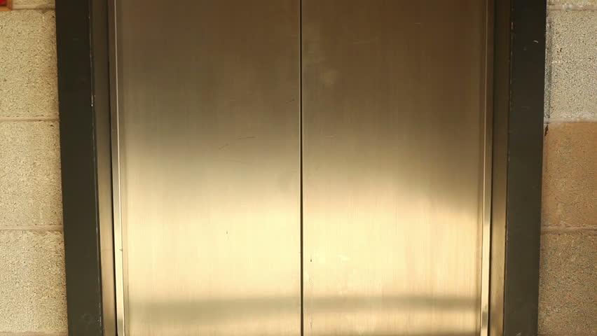 & Elevator Doors Stock Footage Video | Shutterstock Pezcame.Com