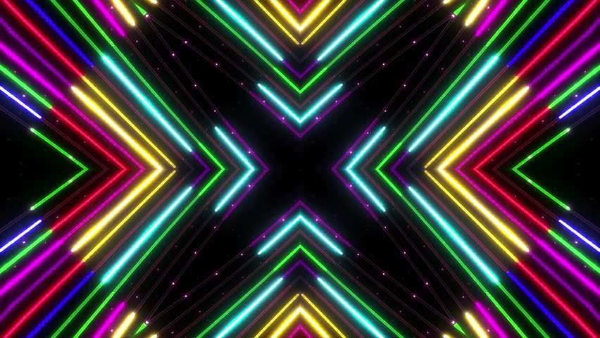 kaleidoscope Neon Tube.