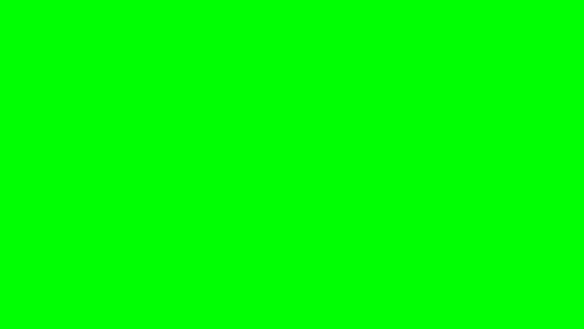 Gold bullets fall to the ground - green screen | Shutterstock HD Video #5730116
