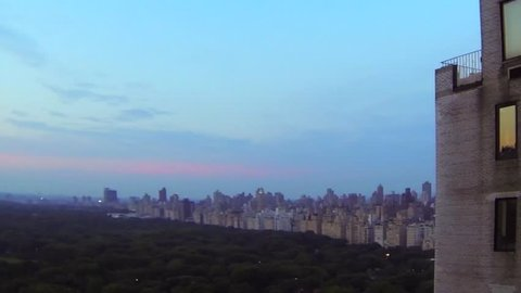 Central Park South - elevated view timelapse 03 - Day GOPRO109