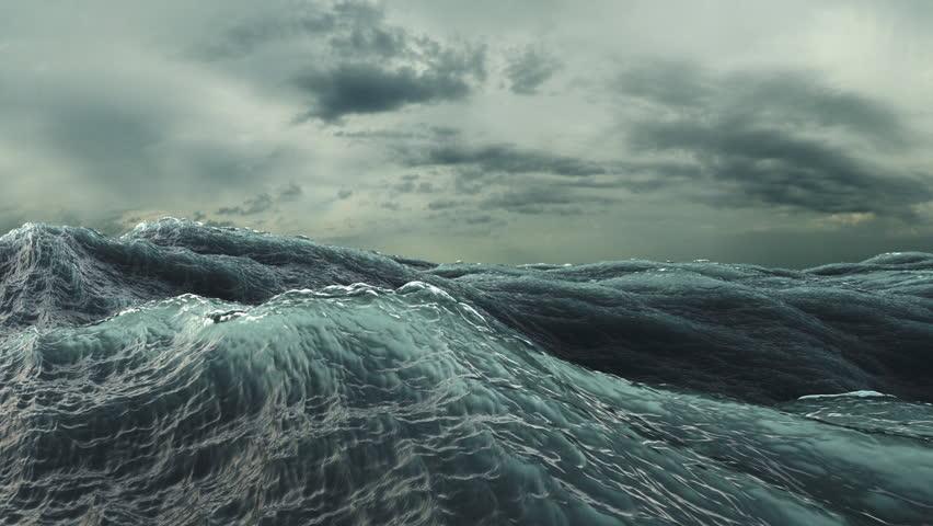 Big wave North Sea - YouTube