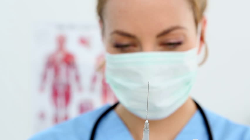 Shutterstock Of Royalty-free Footage Stock Nurse Pretty Caucasian 100 Video 5900486 Portrait