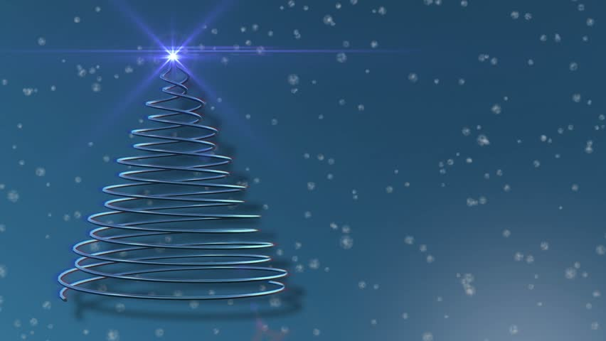 ChriStars - Star / Christmas Video Background Loop /// Stylized ...