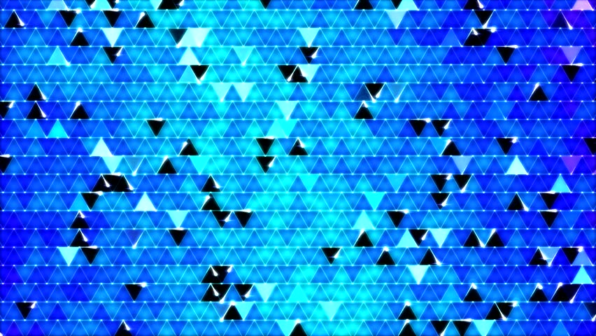 Colorful Triangle Background Animation - Blue #5982797