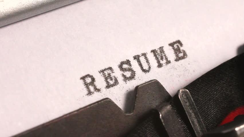 Resume Stock Footage Video   Shutterstock