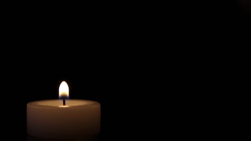 blurred candles with flames stock footage video 5561450