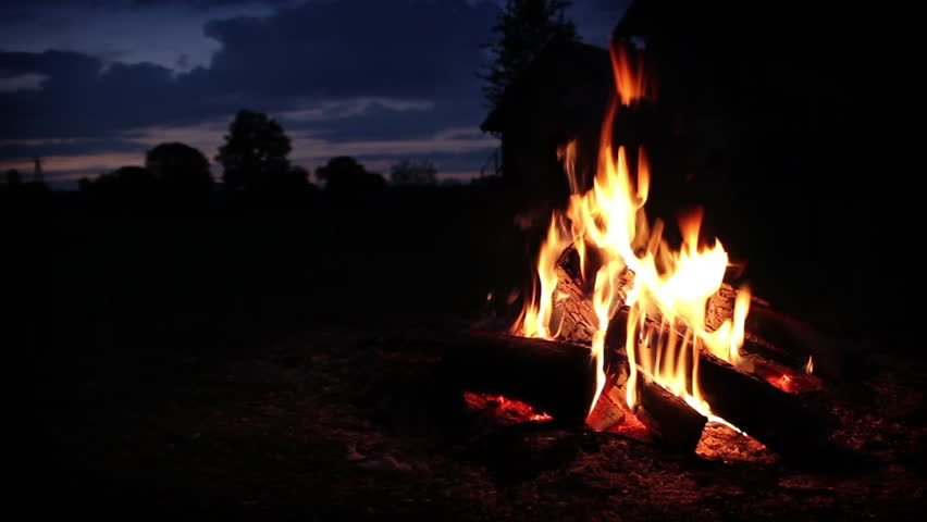 Header of campfire
