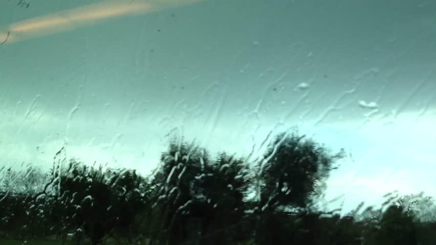 Rain from a Train
