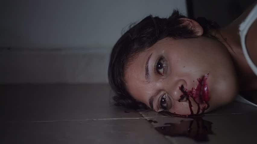 Blood Drops In Snow Stock Footage Video 4108153 Shutterstock
