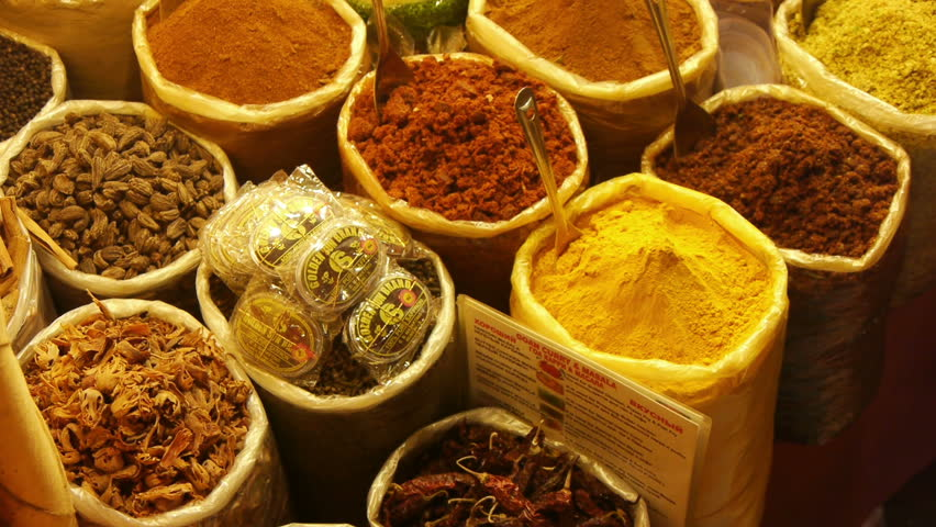 INDIA, GOA, 22 March, 2014: Different spices at Goa market.