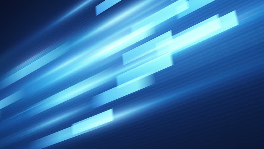 blue stripes fast motion. computer generated seamless loop abstract motion background