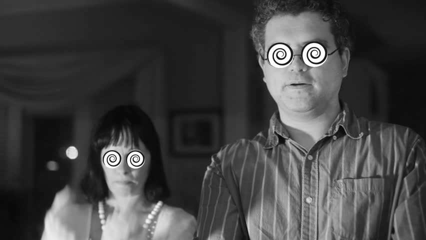 Hypnotized couple