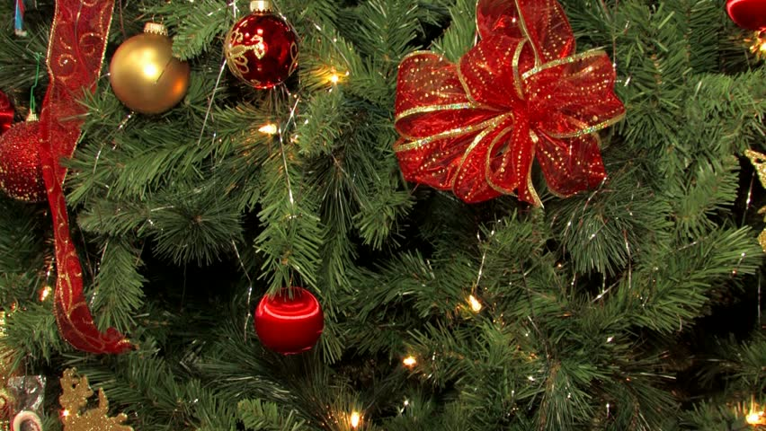 christmas tree decorated with lights stock footage video 100 royalty free 621226 shutterstock