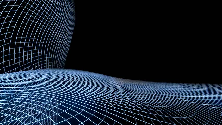 Electronic Internet 3d Rendered Animation Of A Symbol Constructed