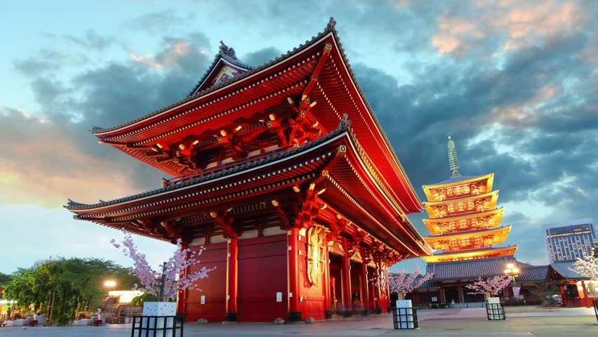 Tokyo - Sensoji-ji, Temple in Asakusa, Japan #6325205