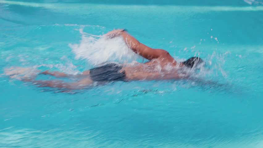 how to do a flip turn in the pool