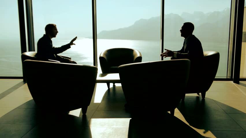 Meeting Room Silhouette