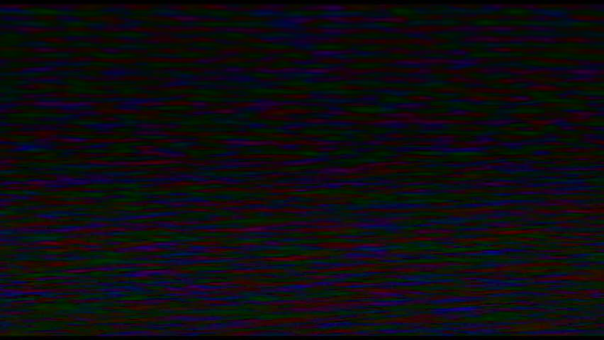 Footage of a scratched video tape which could be used as an effect / scratched or used video tape, film