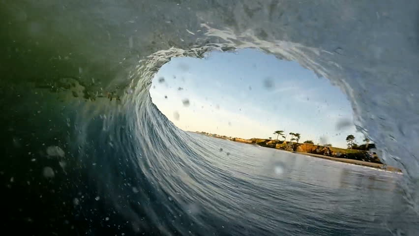 Nice point of view tube ride