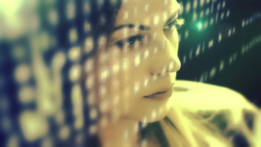 Woman developer hacking code   Shutterstock HD Video #6474356