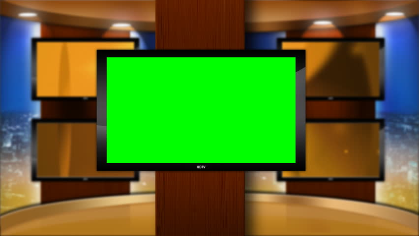 Virtual Studio Set Background with Stock Footage Video (100% Royalty-free)  647626   Shutterstock