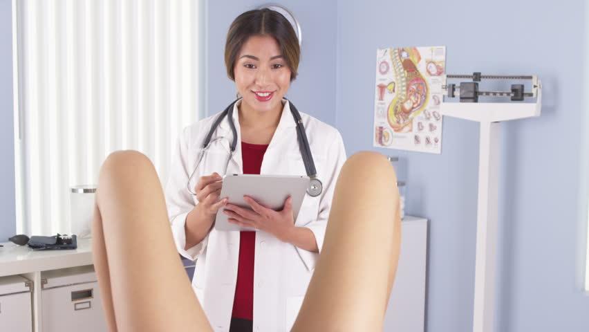 Japanese gyno exam video