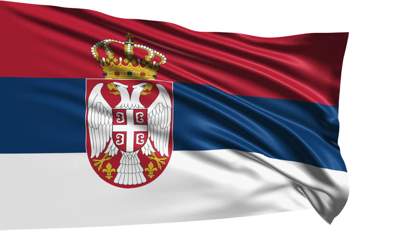 Serbia Flag Silk3d Illustration Stock Illustration 445602331 ...