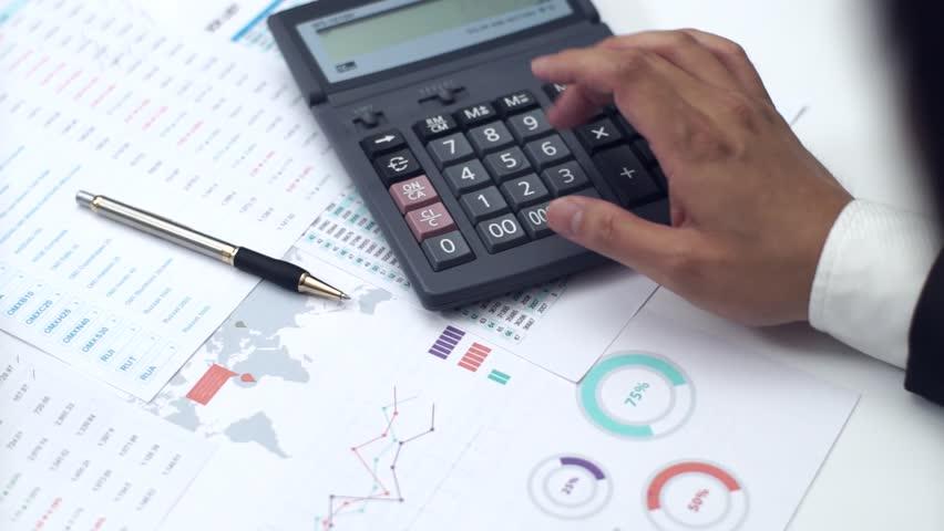 Resultado de imagem para businessman calculator