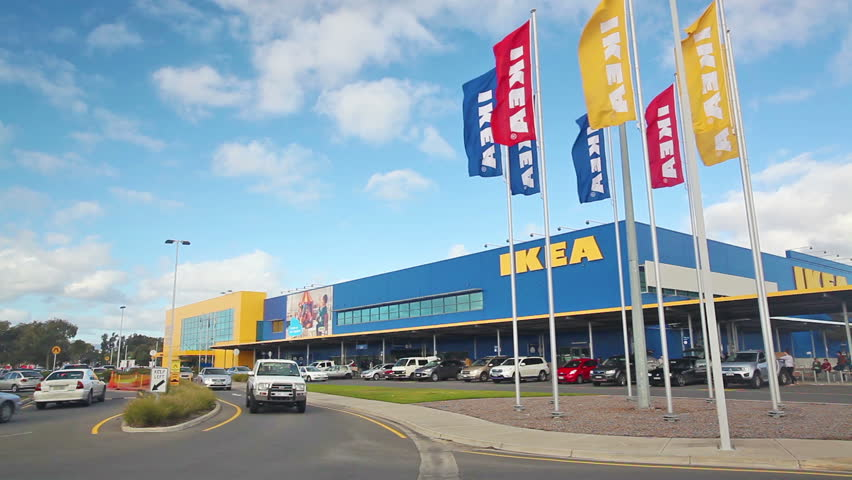Adelaide, Australia - Jul 6: View of Ikea store in Adelaide, Australia on Jul 6, 2014. Ikea is the world's largest furniture retailer.