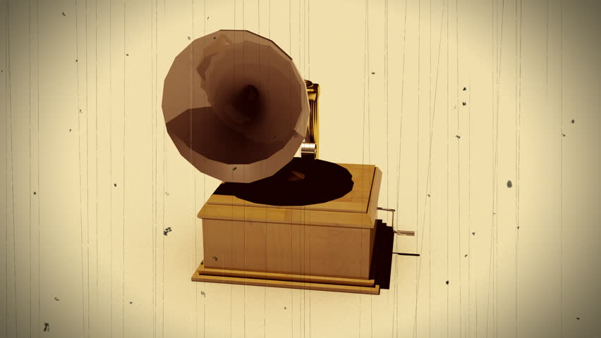 phonograph looping background