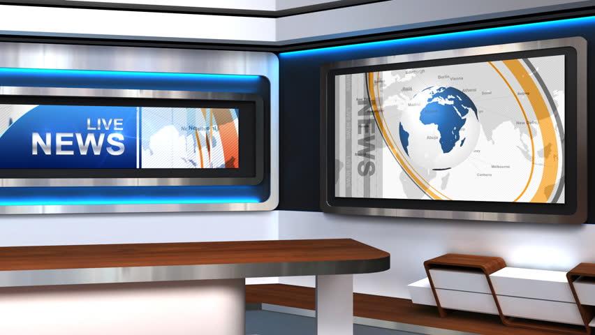 Cnn news studio background