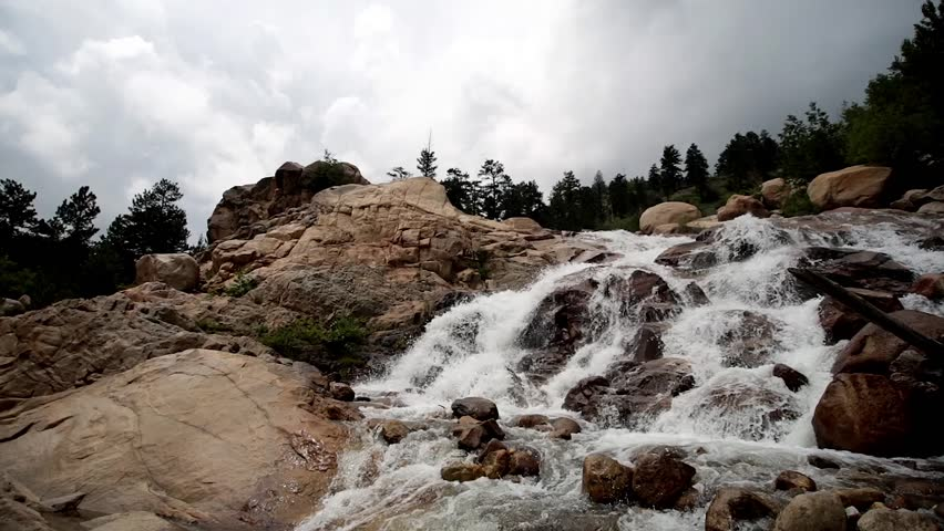 Header of alluvial fan