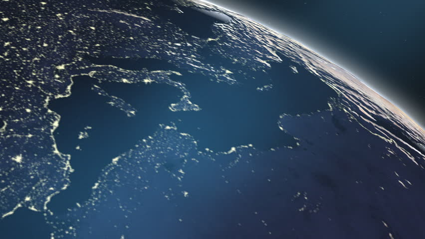 Europe rising 60fps from outer space at night the illuminated from outer space at night the illuminated cities of voltagebd Image collections