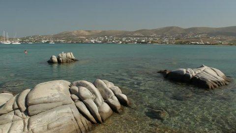 Kolimbithres Beach, Paros, Greece