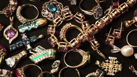 Collection of Jewelry - HD - Rotating