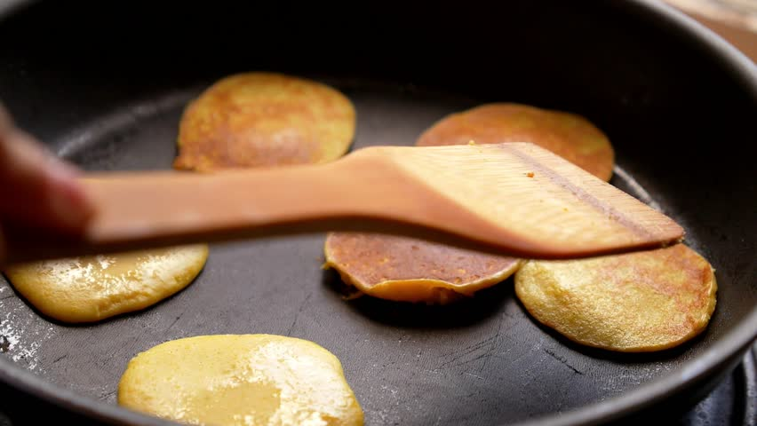 Stock video of making of home made pancakes on 7185706 shutterstock ccuart Images