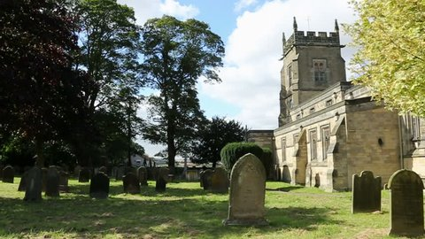An English Parish Church in a small country village in North Yorkshire in the United Kingdom.