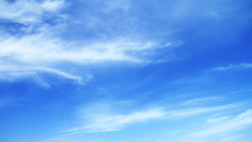 Clear Sky Stock Footage Video (100% Royalty-free) 723256 ...