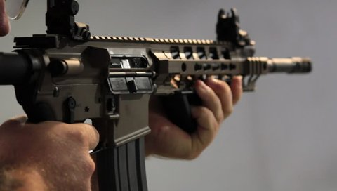 Shooter Fires Four Rounds with an AR-15 Assault Rifle