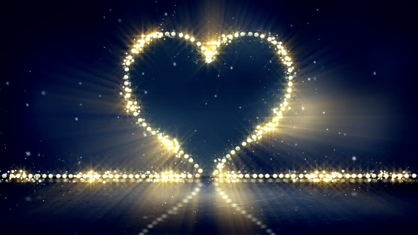 super popular 000f9 81e3c Heart Shape Christmas Lights. Computer Stock Footage Video (100%  Royalty-free) 7247266 | Shutterstock