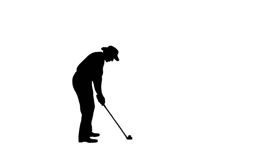 Golfer Silhouette Www Picswe Com