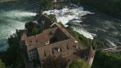 Biggest Waterfall Europe, Rheinfall, Schweiz