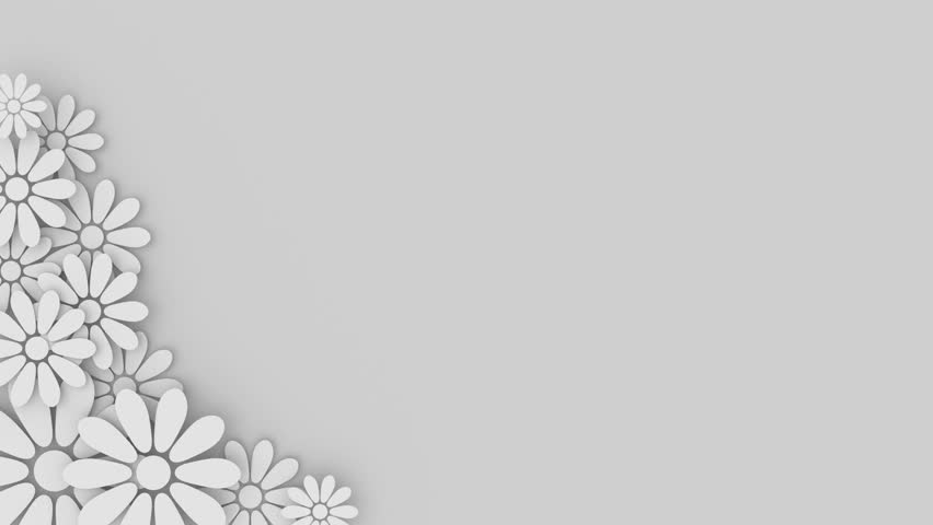 Wedding Floral Background With Place Stock Footage Video 100
