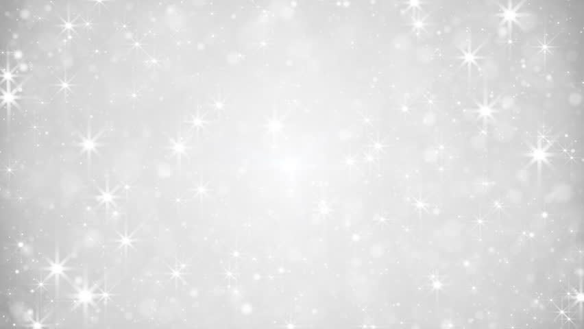 Glittering silver dust. computer generated seamless loop festive abstract motion background